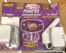 Nintendo Game Boy Advance Intec Value Pac Power Kit NOS 2003