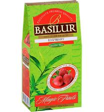 Basilur Magic Fruits -Raspberry 100g Loose Leaf  Ceylon Green Tea -FREE Shipping