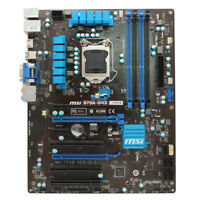 Intel B75 LGA 1155 Socket Motherboard for MSI B75A-G43 MS-7758