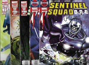 Sentinel Squad One 1 2 3 4 5 Set Signed John Layman Autographed X-Men