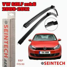 "VW GOLF MK6 2009-2012 SPECIFIC FIT FRONT WINDSCREEN WIPER BLADES 24""19"""