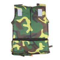 1pcChild Adjustable Life Jacket Vest Whistle For Buoyancy Kayak Canoeing Fishing