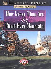 How Great Thou Art & Climb Ev'ry Mountain, ( DVD 2003) Reader's Digest