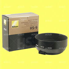 Genuine Nikon HS-9 Metal Lens Hood for AF 50mm f/1.4D AiS AI-S 50mm f/1.4 Manual