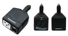 QFX 300W CAR RV BOAT 12V DC TO 110V AC POWER INVERTER CONVERTER USB PORT LAPTOP