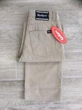 Garçons/Enfants Kickers Casual coton brossé doux Pierre Smart Pantalon 26 = Âge 12 Ans