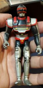 """Saban VR Troopers J.B. JB Reese 5"""" Action Figure Kenner 1995 Needs cleaning C86"""