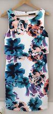 Ivanka Trump Dress Women's US Size 8 Sheath Floral multi col as NEW
