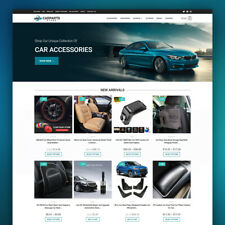 Automotive Dropshipping Store Turnkey Dropship Website Business