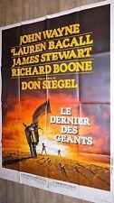 john wayne LE DERNIER DES GEANTS the shootist !  affiche cinema western