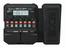 Zoom G1x Four Guitar Multi Effects Pedal