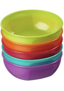 Vital Baby Nourish Perfectly Simple Feeding Bowls Ideal for Everyday Use, 5 Pack