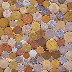 10 OLD COINS MADE IN 90's. DIFFERENT COLLECTIBLE COINS FROM NINETIES 1990-1999