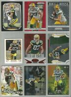Jordy Nelson Green Bay Packers 9 card 2013-2014 insert lot-all different