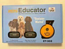 E-Collar Technologies Mini Educator Et-302 Remote Off Leash 2 Dog 1/2 Mile range