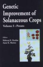 Genetic Improvement of Solanaceous Crops, Volume 1: Potato
