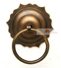 Door knocker Chinese Furniture Hardware Brass Drawer Handle Copper Knob 7.5cm
