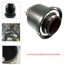 1PC Carbon Fiber Universal3''76mm Car High Flow Cold Air Intake Filter Cleaner