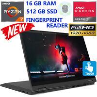 Lenovo FLEX 5 2-in-1 Laptop AMD Ryzen 7- 16GB RAM- 512GB SSD- Full HD IPS Touch