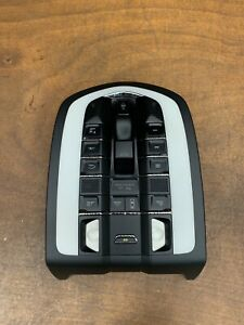 2012 Porsche Cayenne S Overhead Dome Light Sunroof Switch OEM