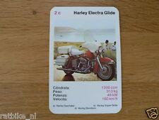 EASY RIDER 2C HARLEY-ELECTRA GLIDE 1200 KWARTET KAART, QUARTETT CARD,SPIELKARTE