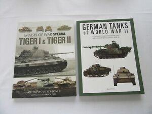 2 German WW2 Tank Paperback Books.
