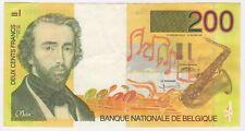 More details for 1995 belgium 200 francs bank note | pennies2pounds