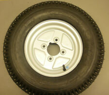 10 inch Trailer wheel and 500/10 6Ply Tyre 4 inch PCD fits Most English Trailers