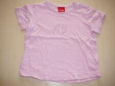 Esprit süßes T-Shirt Gr. 74 rosa mit Seepferdchen Motiven !!