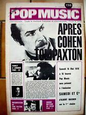 POP MUSIC N°7 CAT STEVENS JOHNNY WINTER J. LENNON ADAMO