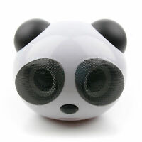 Portable Panda Mini USB Speakers For NEW Samsung Chromebook 3