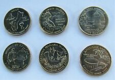 2009 D.C. & U.S. TERRITORIES 6 Pc. Uncirculated U.S. Set of Quarter