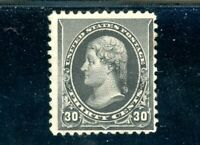 USAstamps Unused FVF US 1893 Jefferson Scott 228 OG MHR