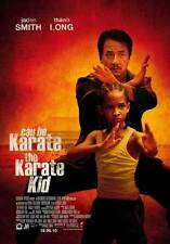 THE KARATE KID Movie POSTER 27x40 Taiwanese Jaden Smith Jackie Chan