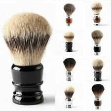 Men's Badger Shaving Brush Tool Alloy Wood Facial Cleaning Luxury Soft Handhel