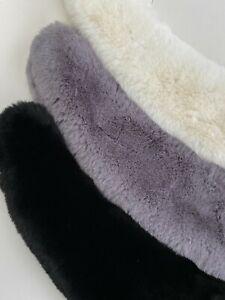 Winter Faux Fur Scarf Fur Collar Super Soft Snood Pretty Shawl Wrap Cover Up