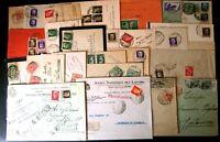 Regno Storia Postale - Floreale Imperiale -- Lotto da 80 buste del settore - 10