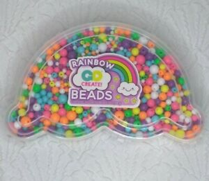 Go Create Rainbow Beads Contains Assorted Beads 7 Oz. Arts & Crafts Kid Activity
