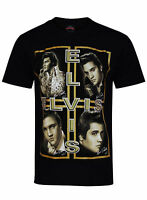 "Elvis Presley T-Shirt  BOTH SIDE PRINT ""King of Rock and Roll (KING FOREVER)"