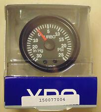 VDO Cockpit 52mm Boost / Vacuum Gauge for 4WD Nissan Toyota Mitsubishi VW Subaru