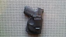 S&W SHIELD With Crimson Trace Green Laser  KYDEX HOLSTER  Black RH IWB 9/40