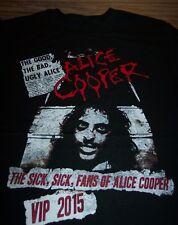 ALICE COOPER 2015 TOUR VIP T-Shirt XL NEW