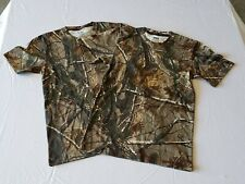 2 Russell Outdoors Realtree AP Camo  Short Sleeve T-Shirt Sizes S M L XL 3XL