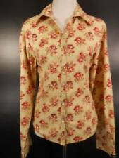 Beautiful Women's Large Rockies Multi-Color Floral Long Sleeve Fitted Blouse GUC