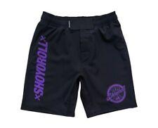 SHOYOROLL Training Fitted Shorts (COMPQ319) Black/Purple Large