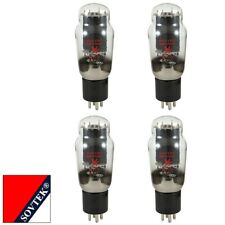 Plate Current Matched Quad (4) Sovtek 2A3 Triode Power Vacuum Tubes