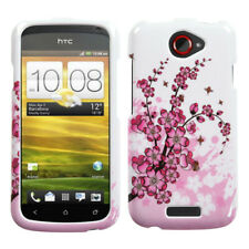 For HTC One S Spring Flowers Phone Protector Case Cover