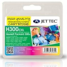 Jet Tec HP 300XL Colour Ink Cartridge V.A.T Included Fast&Free UK Shipping