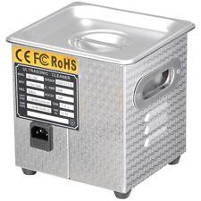 2L Digital Ultrasonic Cleaner Jewelry Watch Rings Home Industry Heater Tank