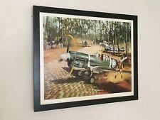 Kitty Hawks 1944 - Michael Turner - warplane poster, frame 20''x16''